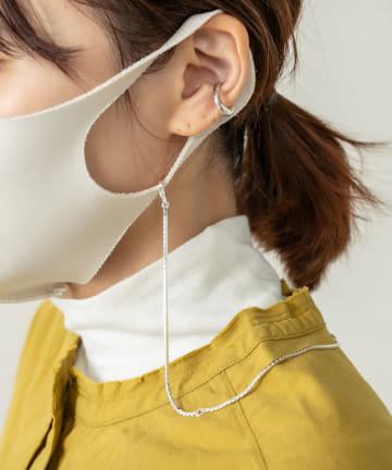 Omekashi(オメカシ) 【WEB限定】スネークマスクチェーンネックレス