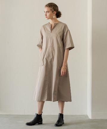 Loungedress(ラウンジドレス) 【TICCA/ティッカ】キーネックロングドレス