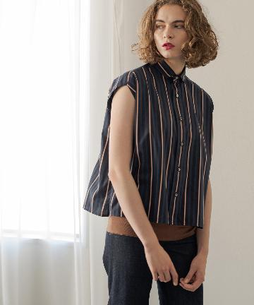 Loungedress(ラウンジドレス) 【TICCA/ティッカ】フレンチスリーブシャツ