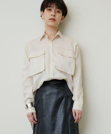 Whim Gazette(ウィム ガゼット) BOXポケットOVERシャツ