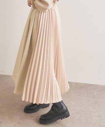 Lui's(ルイス) パンチングレザープリーツスカート <ITEM FOCUS MOVIE>