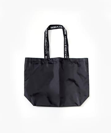 3COINS(スリーコインズ) 【持ち運んでエコに使おう】 空中ポケット付バッグ