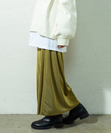 mystic(ミスティック) シャイニーカラーネットスカート