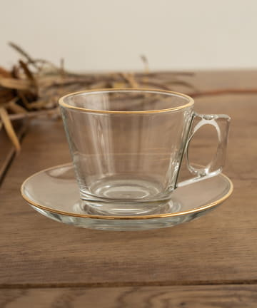 CAPRICIEUX LE'MAGE(カプリシュレマージュ) 〈WEB・一部店舗限定〉【QUEEN'S GOLD】Cup&Saucer