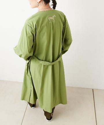 ear PAPILLONNER(イア パピヨネ) 馬刺繍スプリングコート