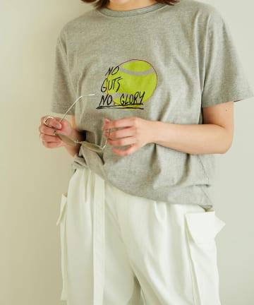 GALLARDAGALANTE(ガリャルダガランテ) 【THE ACADEMY NEW YORK】イラストTシャツ