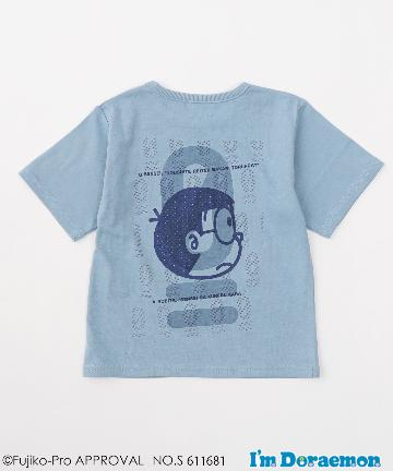 CIAOPANIC TYPY(チャオパニックティピー) 【KIDS】【I'mDoraemondeTYPY】のび太0点バックプリントTee
