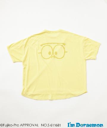 CIAOPANIC TYPY(チャオパニックティピー) 【I'm Doraemon de TYPY】 刺繍5分袖 BIGTee