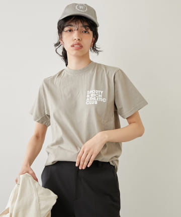 Whim Gazette(ウィム ガゼット) 【Sporty&Rich】Exercise TEE