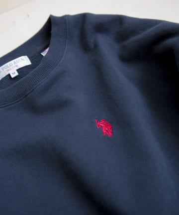 CPCM(シーピーシーエム) 【再入荷】U.S. POLO ASSN.ユーエスポロアッスン 刺繍スウェット