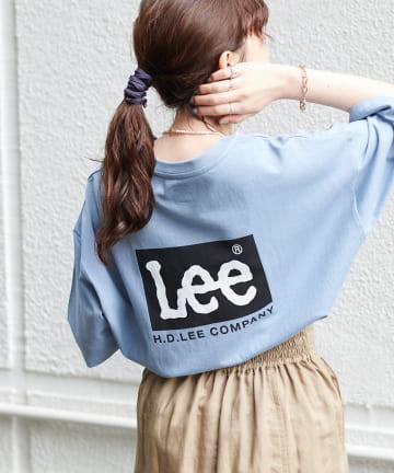 Discoat(ディスコート) 【Lee/リー】コラボバックプリントTシャツ