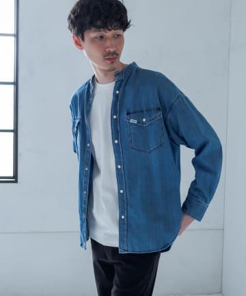 Discoat(ディスコート) 【Lee/リー】 コラボオソロデニムシャツ