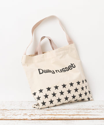 Daily russet(デイリー ラシット) アイコン2wayトートバッグ