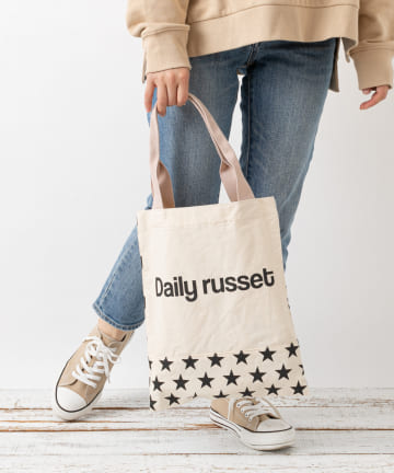 Daily russet(デイリー ラシット) 【A4サイズ対応】アイコントートバッグ