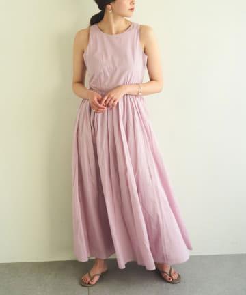 GALLARDAGALANTE(ガリャルダガランテ) 【MARIHA】コットンロングワンピース/夏のレディのドレス<別注カラーあり>