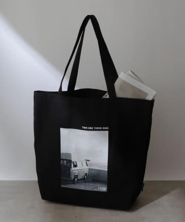 COLONY 2139(コロニー トゥーワンスリーナイン) メッセージキャンバストートバッグ2/マチ付きA4収納可能トート