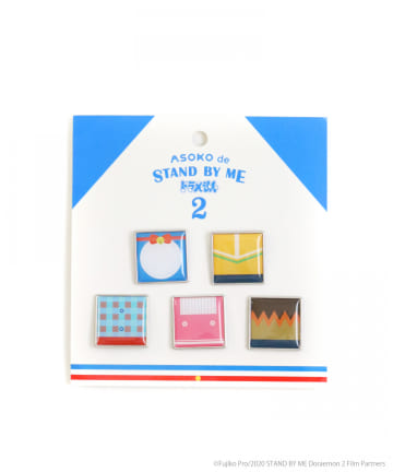 ASOKO(アソコ) 【STAND BY ME ドラえもん 2】ピンバッジ5個セット
