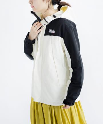 CPCM(シーピーシーエム) 【FIRST DOWN】配色マウンテンパーカー