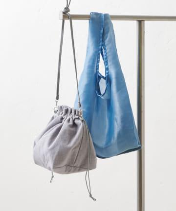 Discoat(ディスコート) 【3WAY】シアーエコバッグ×巾着トートバッグ