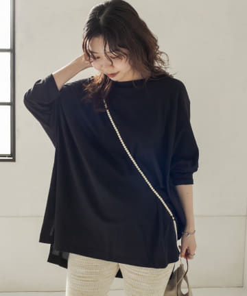 CAPRICIEUX LE'MAGE(カプリシュレマージュ) ボックスBIGTシャツ