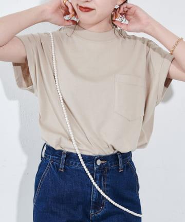 Discoat(ディスコート) USコットンポケ付フレンチTシャツ
