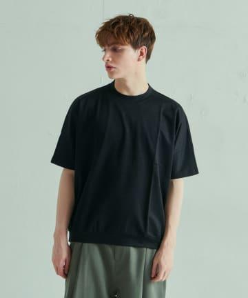 Lui's(ルイス) ラミー混ミラノドルマンTシャツ