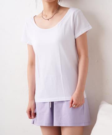 TERRITOIRE(テリトワール) 【FRUIT OF THE LOOM】冷感クルーネックTシャツ