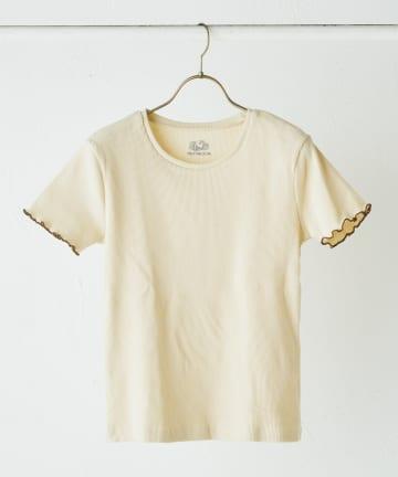 TERRITOIRE(テリトワール) 【FRUIT OF THE LOOM/フルーツオブザルーム】配色リブTシャツ