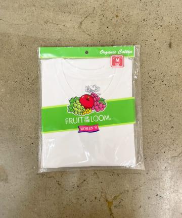 TERRITOIRE(テリトワール) 【FRUIT OF THE LOOM】Ladies オーガニックTシャツ
