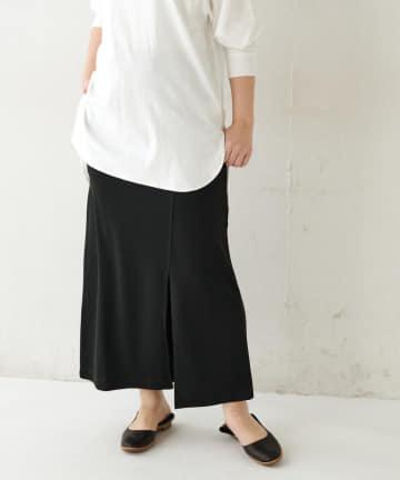 BONbazaar(ボンバザール) 《セットアップ推奨》フロントスリットマキシスカート