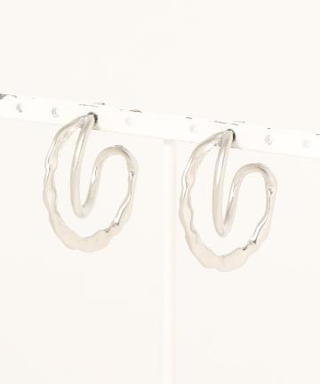 natural couture(ナチュラルクチュール) 変形アンニュイピアス
