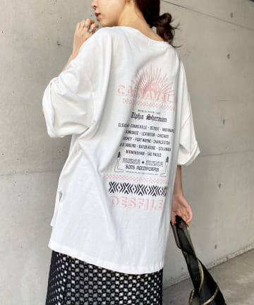 CAPRICIEUX LE'MAGE(カプリシュレマージュ) CARNAVALツアーTシャツ
