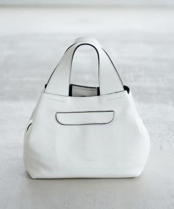 La boutique BonBon(ラブティックボンボン) 【RIPANI(リパーニ)】レザー編みショルダーベルトバッグ
