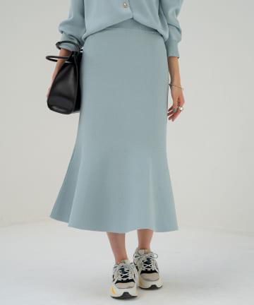 Loungedress(ラウンジドレス) ニットマーメイドスカート
