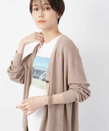 un dix cors(アンディコール) 【《今年らしい着こなし》洗える】DIFFERENT Photo Tシャツ