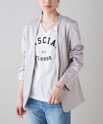Loungedress(ラウンジドレス) 裾ねじりジャケット