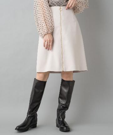 Loungedress(ラウンジドレス) 台形ZIPスカート