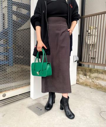 WHO'S WHO gallery(フーズフーギャラリー) カマーバンドナロースカート