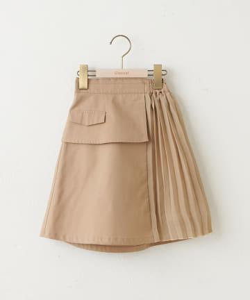 Discoat(ディスコート) 【キッズ】オソロ切替スカート