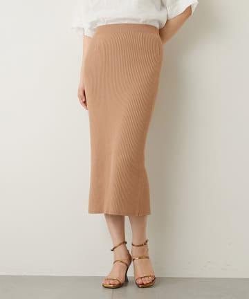 Whim Gazette(ウィム ガゼット) リブタイトスカート