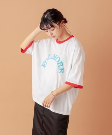 COLLAGE GALLARDAGALANTE(コラージュ ガリャルダガランテ) 【VOTE MAKE NEW CLOTHES】フィルモアリンガーTシャツ