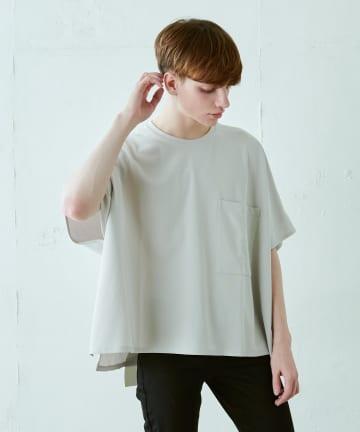 Lui's(ルイス) ポケット付ポンチョTシャツ