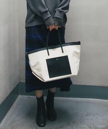 un dix cors(アンディコール) 《予約》【YAHKI(ヤーキ)】 キャンパストートバッグ