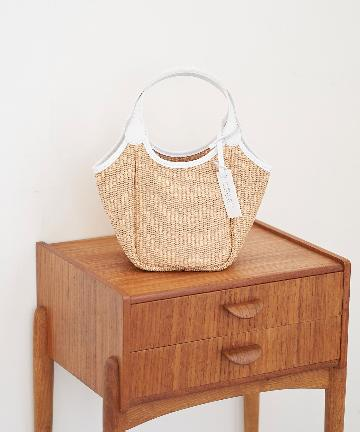 La boutique BonBon(ラブティックボンボン) 【MARCO MASI (マルコマージ)】ラフィアトートバッグ
