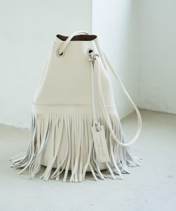 La boutique BonBon(ラブティックボンボン) 【MARCO MASI (マルコマージ)】フリンジミニポシェットバッグ