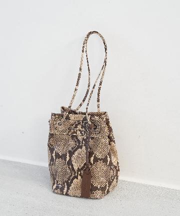 La boutique BonBon(ラブティックボンボン) 【MARCO MASI (マルコマージ)】パイソンミニポシェットバッグ