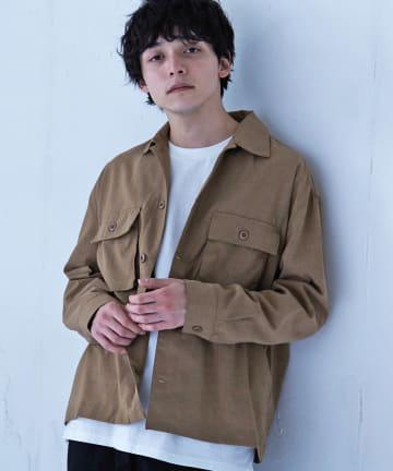 Discoat(ディスコート) ポリラミーCPOシャツ