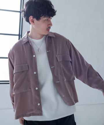 Discoat(ディスコート) ポリワークシャツ
