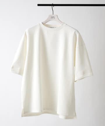 COLONY 2139(コロニー トゥーワンスリーナイン) 抗菌抗ウイルスクルーネックBIGTシャツ/ビッグシルエットTシャツ
