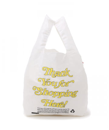 mystic(ミスティック) 聖林 THANK YOU FOR SHOPPING HERE TOTE